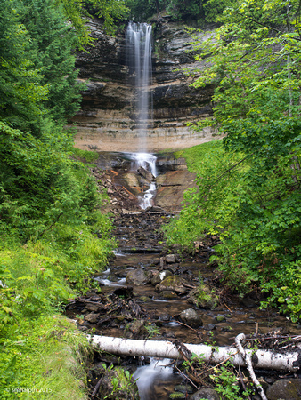 Munising Waterfall, Michigan UP